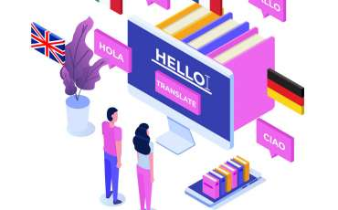 professional translation agency translating content
