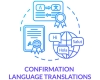 spelling, grammar, syntax learning foreign languages